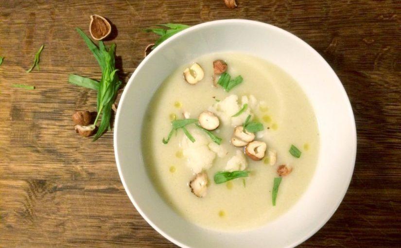 Topinambur Blumenkohl Cremesuppe