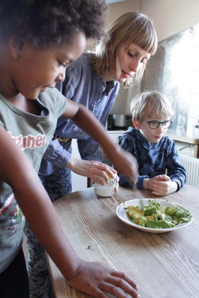 Ernährungskurs mit Kindern