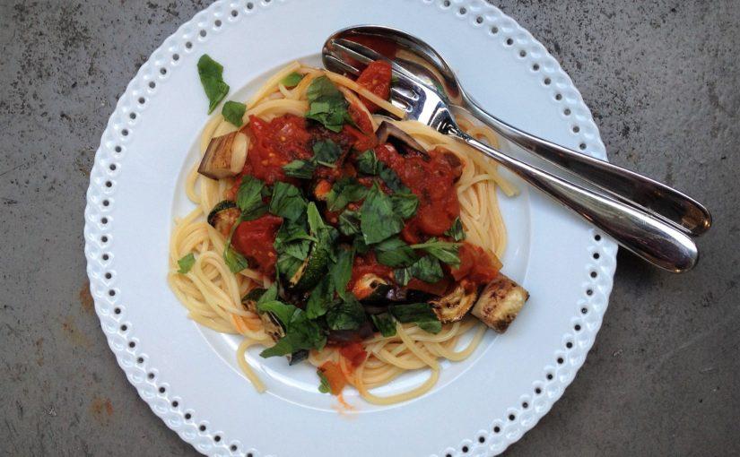 Pasta mit frischer Tomatensauce – so einfach und so gut