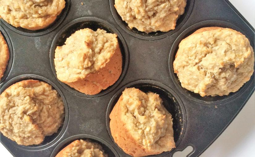Bananenbrot-Muffins