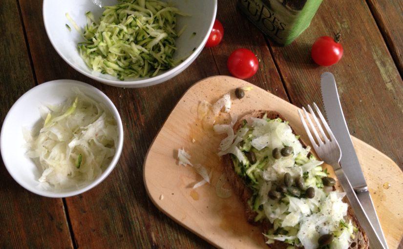 Einfaches Zucchinibrot